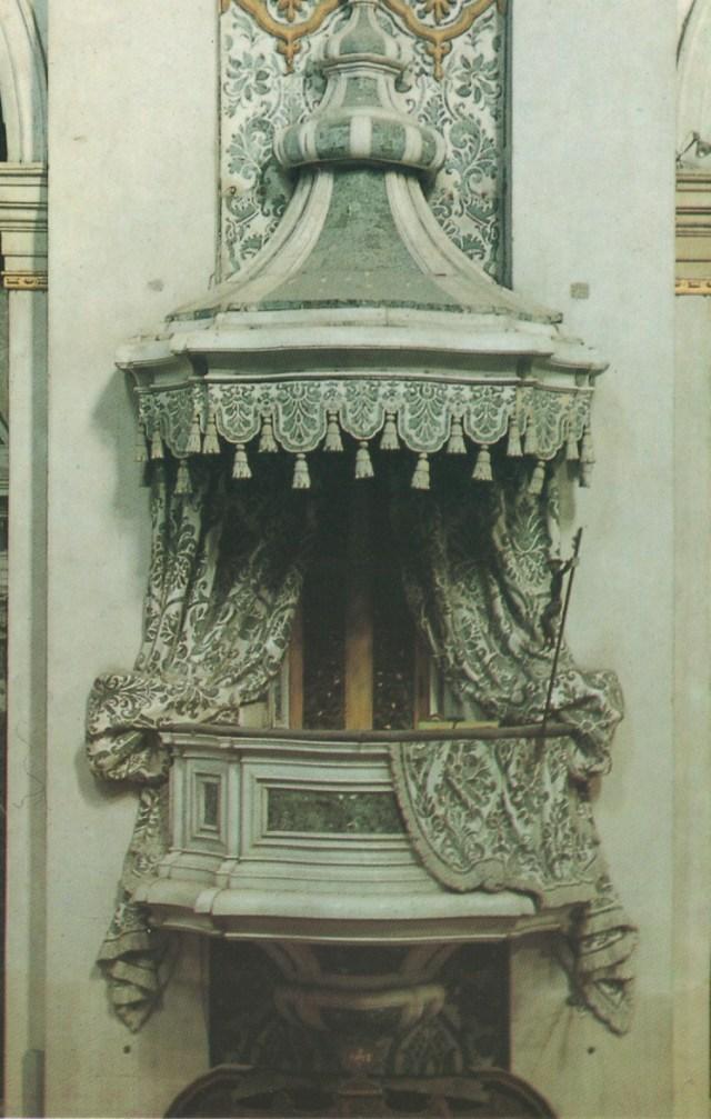 Venice stone balcony postcard