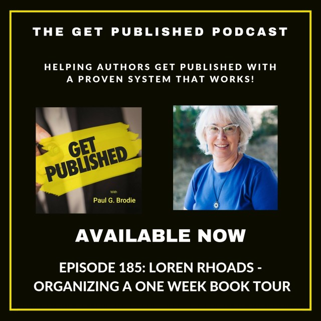 Get Published podcast#185