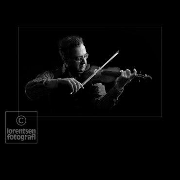 Violinist Ian van Rensburg