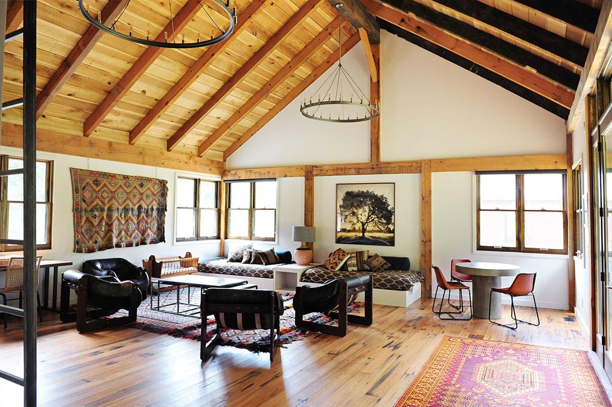 Barn Apartment  Loren Wood Builders