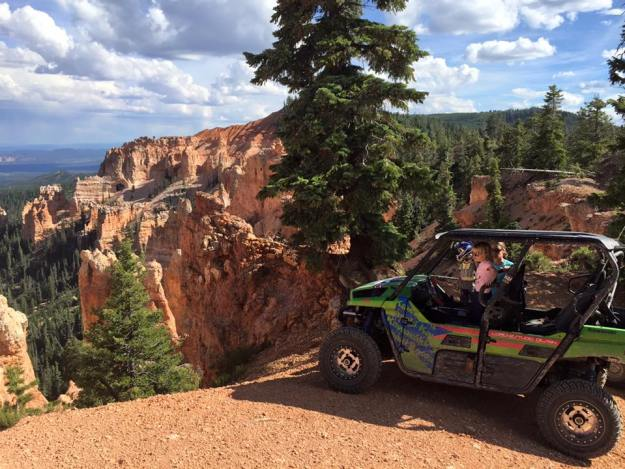 Bryce Canyon Holy smoken UTV accessible amazing views. ‪#‎KawasakiUSA‬