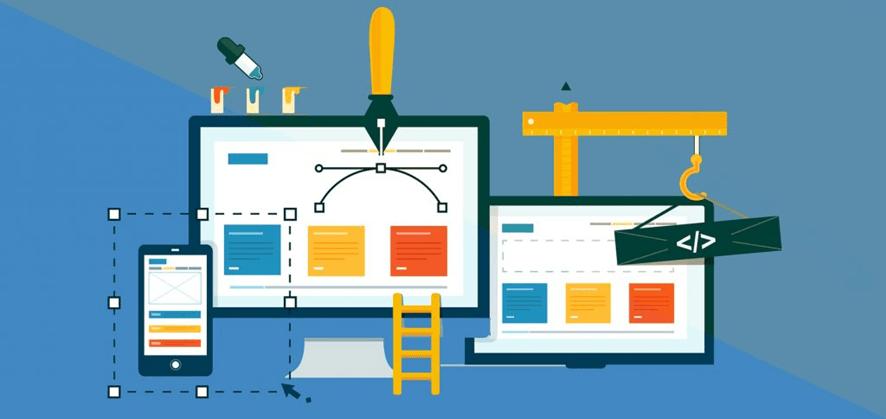 web - Las 5 partes esenciales en el diseño de una web ⭐️