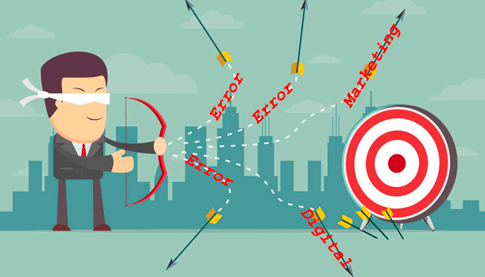 errores en marketing digital - 25 errores de marketing digital que se comenten todos los días