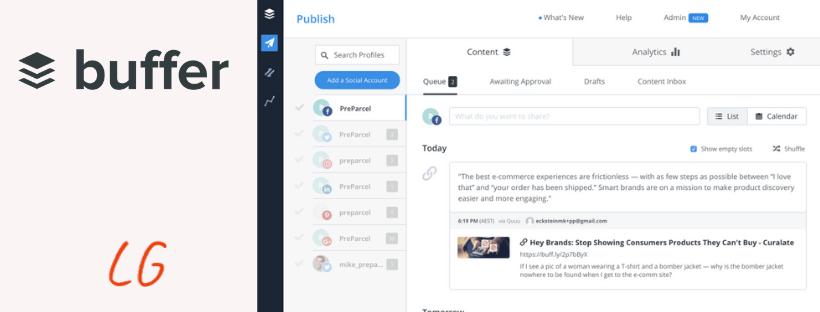 buffer blog - Las 5 mejores herramientas para gestionar redes sociales