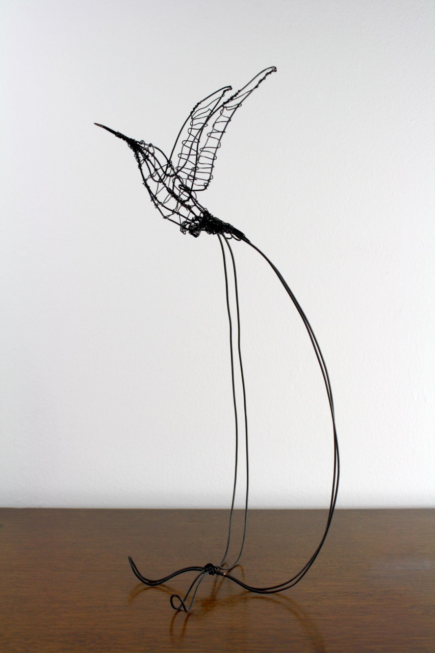 medium resolution of image of wire sculpture designs wire sculpture a hummingbird wiring diagrams