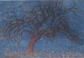 Mondrian, L'albero rosso
