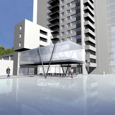 Mondial NDC - Restaurant and tower