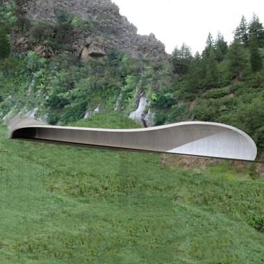 Ulten Tunnels - North gallery