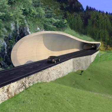 Ulten Tunnels - South gallery