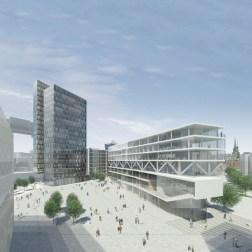 IQ HafenCity - Bird's eye view