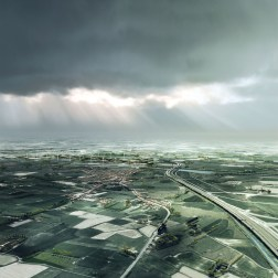 A11 Highway - Aerial view