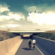A11 Highway - Bicycle path 37