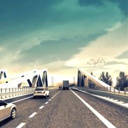 A11 Highway - Bridge 33 roadview