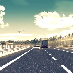A11 Highway - Soundbarrier 34