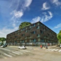 Apartments Block Av. Farrapos 369 - Brick - Street view
