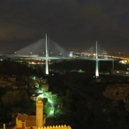 Constantine Trans-Rhummel Bridge - Night view