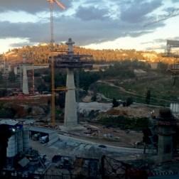 Constantine Bridge - Construction site (1)
