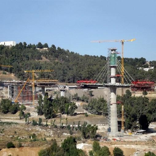 Constantine Bridge - Construction site (5)