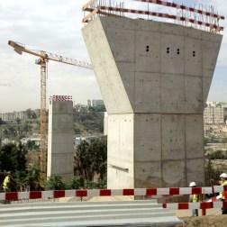 Constantine Bridge - Construction site (8)