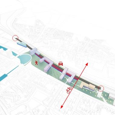Gent Dampoort - Viaduct option 705px