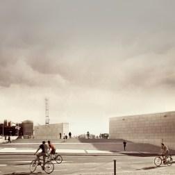 Shoah Memorial - Front view