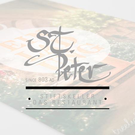 Beitragsbild lorenzoni-pr Grafikdesign/Graphic Design/Branding |St. Peter Stiftskeller | lorenzoni-pr