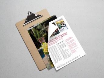 Grafikdesign/Branding: Presse-Aussendung Auszeit | ZillerSeasons Hotel & Chalets