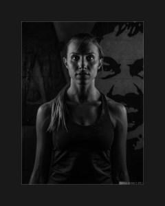 Giulia low key sport portrait