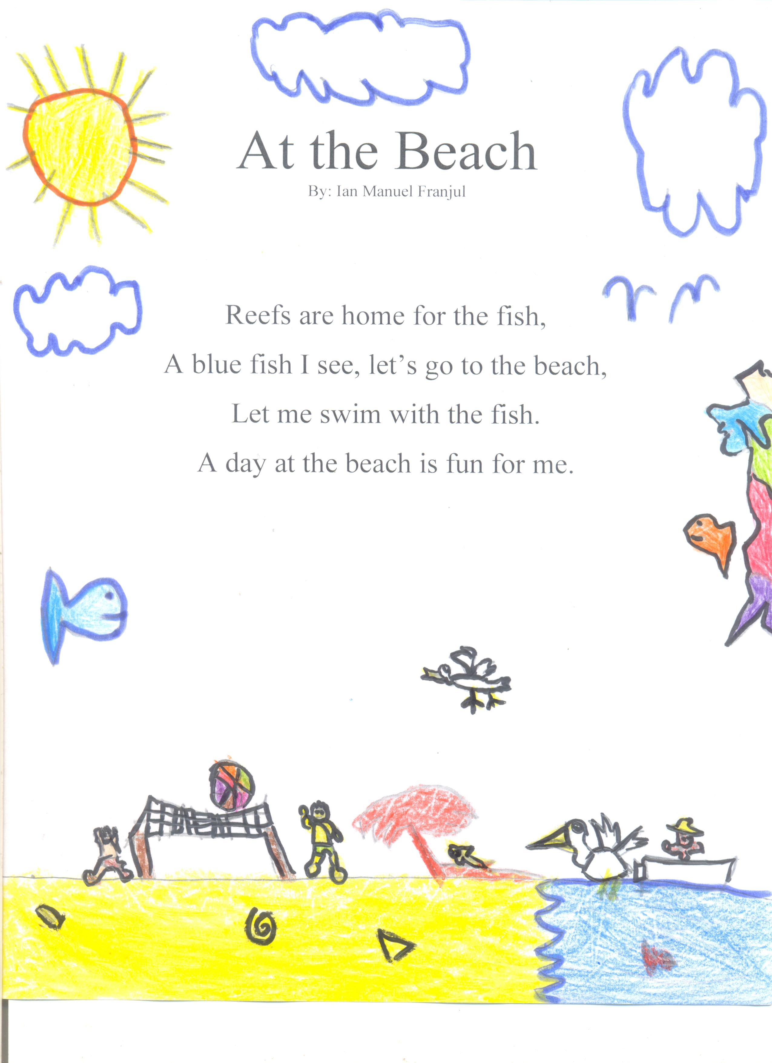 Second Grade S Poems