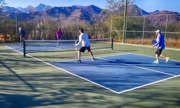 Pickleball Courts Hidden Away in Loreto Bay