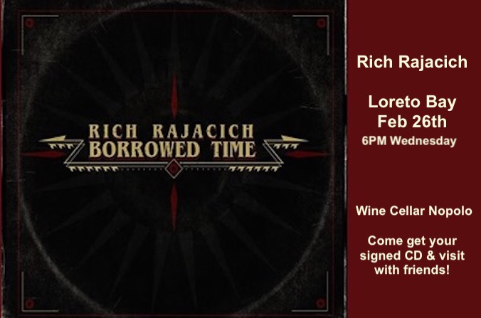 Rich Rajacich Borrowed Time