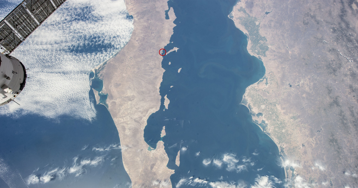 Loreto From International Space Station