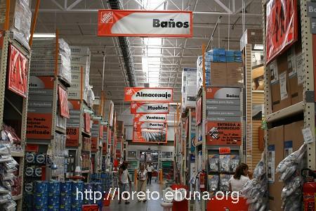 Loreto Baja California Sur BCS Mexico Home Depot in