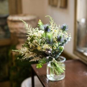 Loreto Aycuens BODAS ramo de novia diseño floral