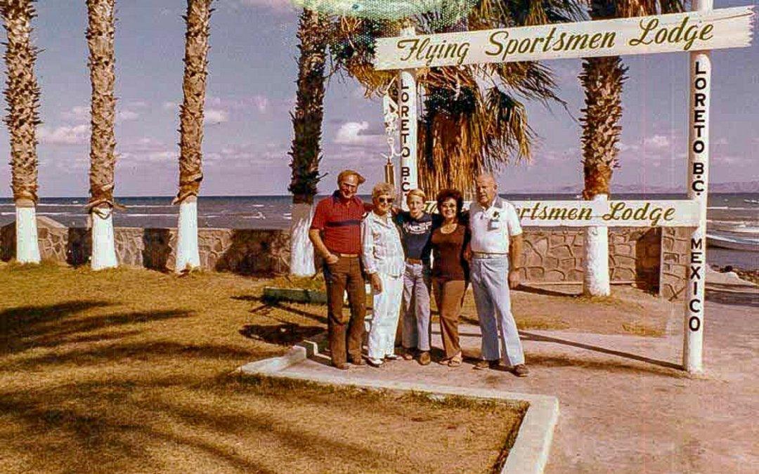 History of The Flying Sportsmen Lodge in Loreto