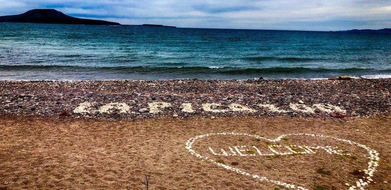La Picazon Loreto Beach Art