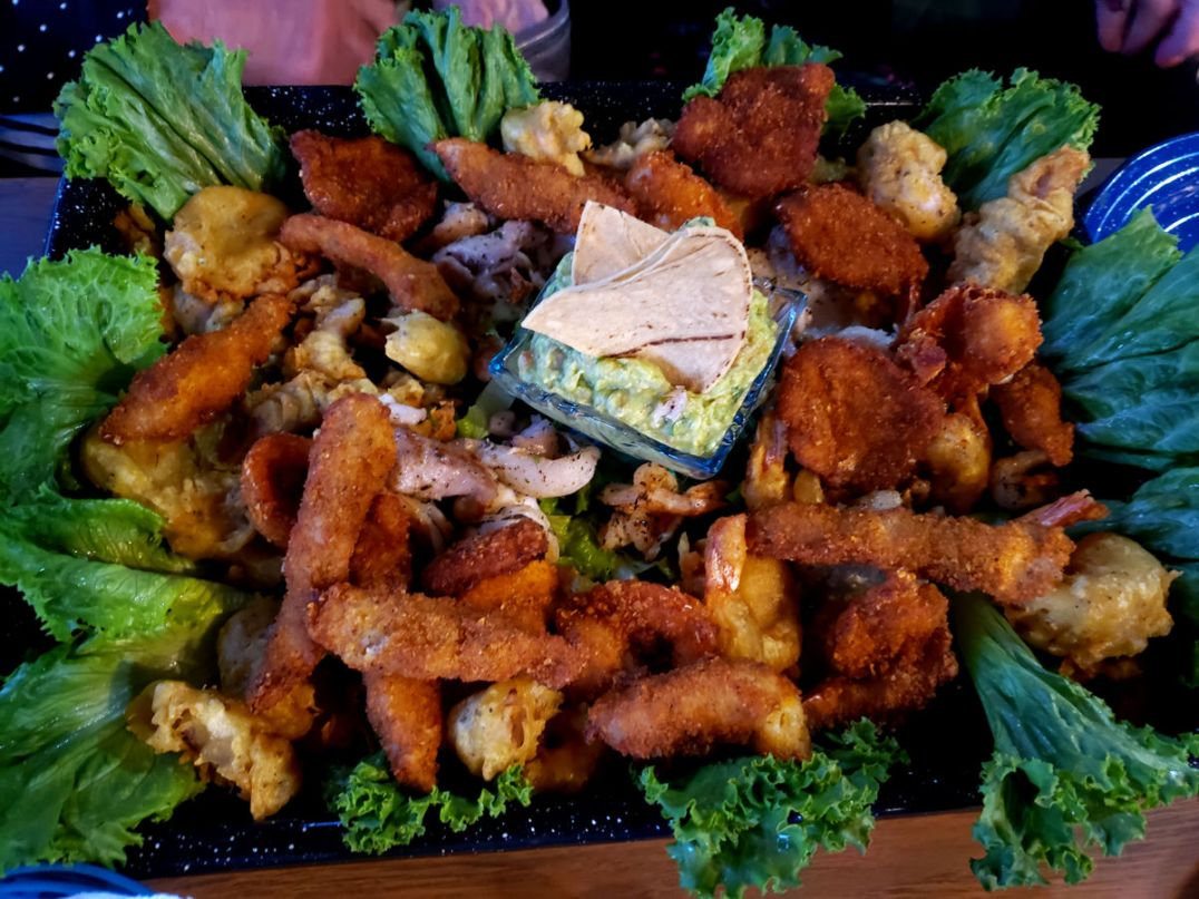Buena Vida Seafood Platter