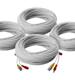high performance security camera cables 4 60ft bnc video power in [ 1200 x 800 Pixel ]