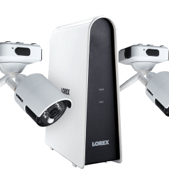 wire free security camera system with 2 cameras [ 1200 x 800 Pixel ]