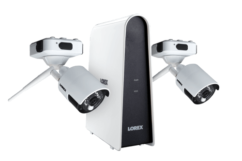 small resolution of wire free security camera system with 2 cameras