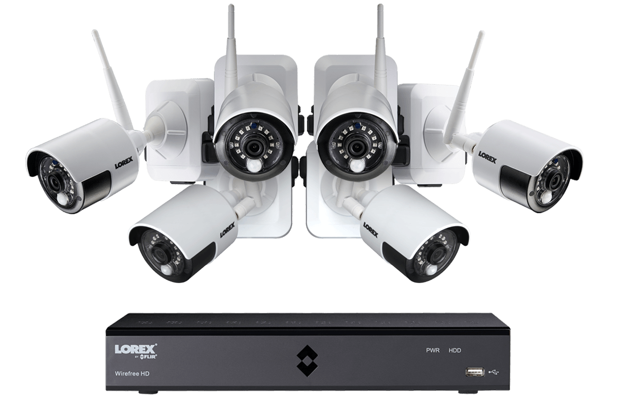 hight resolution of wire free security camera system