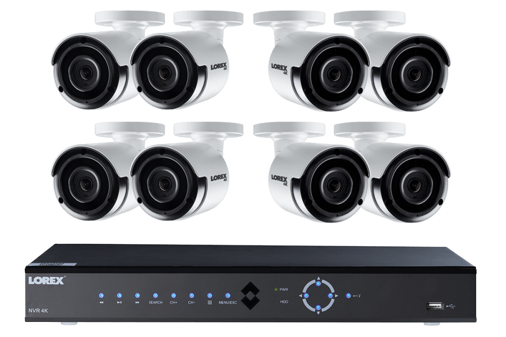 medium resolution of  wiring diagram lorex security camera 4k ultra hd ip nvr security camera system with eight 4k ip cameras on security system