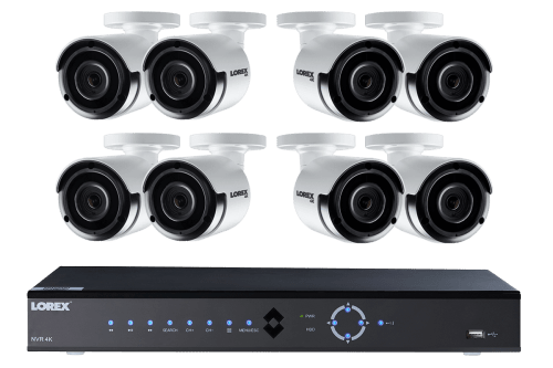 small resolution of  wiring diagram lorex security camera 4k ultra hd ip nvr security camera system with eight 4k ip cameras on security system
