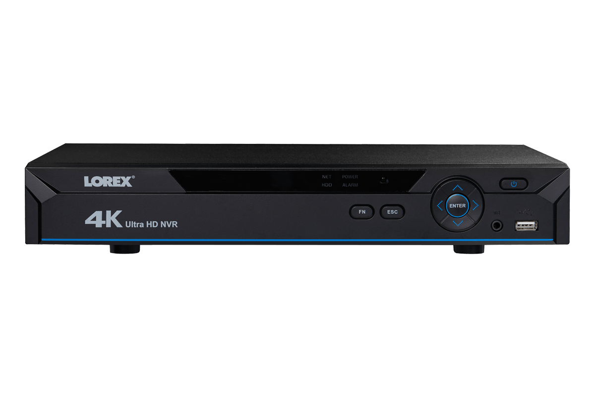 hight resolution of 4k nvr with 8 channels and lorex secure remote connectivity