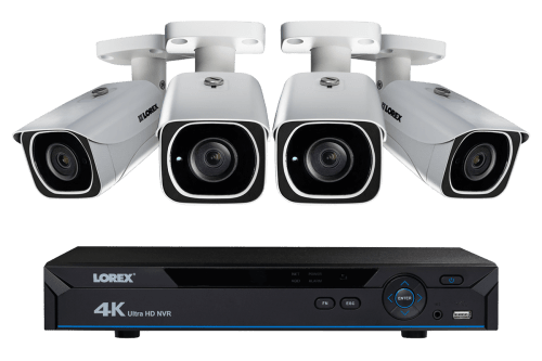 small resolution of ip camera system with 4 ultra hd 4k security cameras lorex secure connectivity