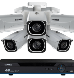 4k ip camera system with 6 ultra hd 4k metal cameras 130ft color night vision [ 1200 x 800 Pixel ]