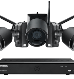 1080p wire free camera system 3 battery powered black outdoor metal cameras ultra  [ 1200 x 800 Pixel ]