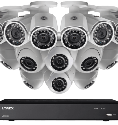 1080p 16 channel hd security camera system with 16 1080p outdoor cameras [ 1200 x 800 Pixel ]