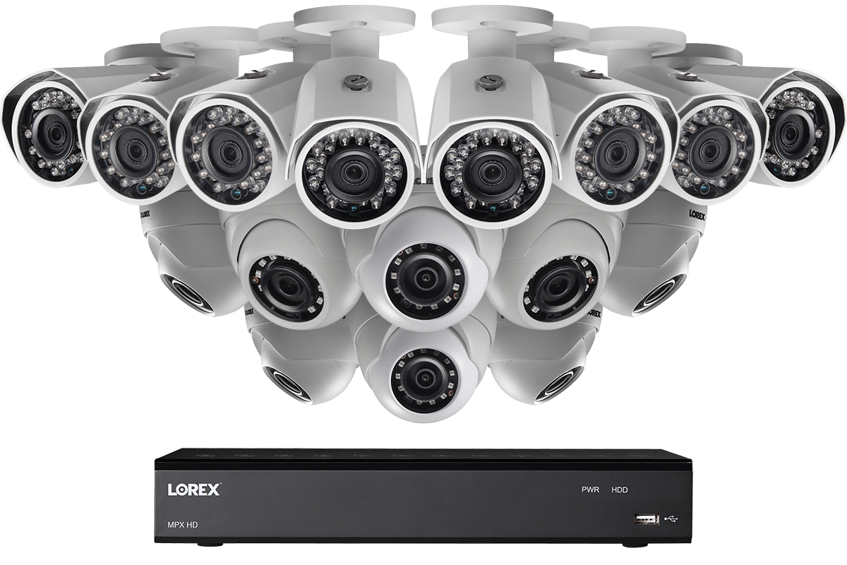 hight resolution of 1080p 16 channel hd security camera system with 16 1080p outdoor cameras