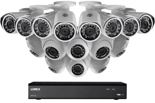small resolution of 1080p 16 channel hd security camera system with 16 1080p outdoor cameras